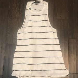 Honey Punch striped tank top